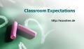Regeln für den Unterricht – Classroom Management